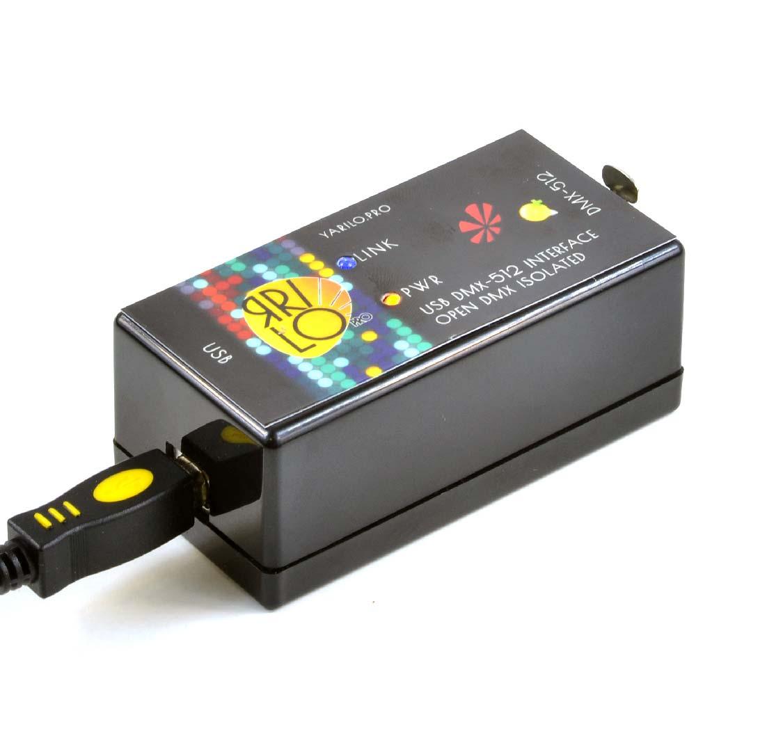 Details about USB DMX controller Yarilo Open DMX  Freestyler QLC+ M-PC  freesoft DMX interface