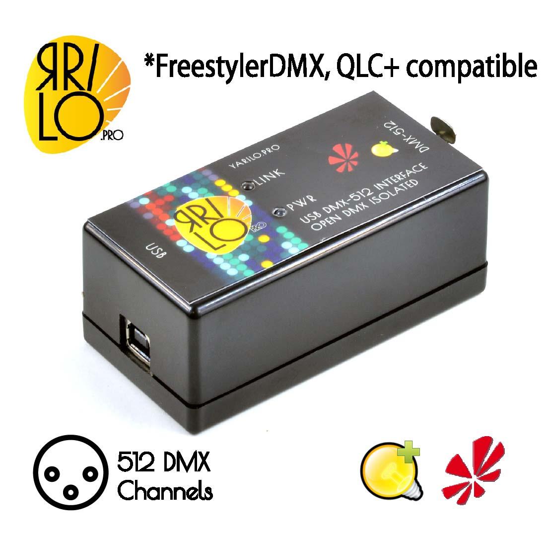 USB DMX controller Yarilo Open DMX  Freestyler QLC+ M-PC